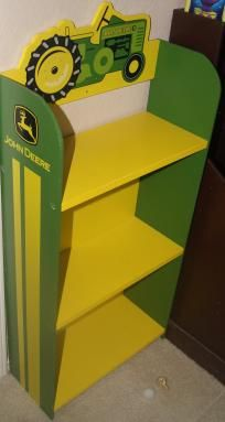 John Deere Shelf. I just bought this for my kitchen, wonder what I'm gonna put on it.