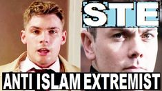 Groomed By Anti Islamic Far Right Cult Leader Jonny (Ray Quinn)! Ste Hay groomed by anti Muslim gang leader Jonny played by Ray . Hollyoaks, Islamic, Groom, Cards, Grooms, Maps, Playing Cards