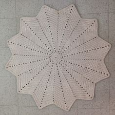 crochet rug (in finnish) Crochet Home, Knit Crochet, Crochet Rug Patterns, Home Deco, Diy And Crafts, Projects To Try, Blanket, Knitting, Handmade