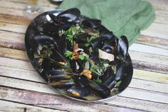 Beer-Steamed Mussels with Bacon   Recipe   Mussels, White Ale and ...