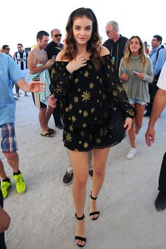"( ☞ 2017 ★ HOT CELEBRITY WOMAN ★ BARBARA PALVIN IN A MINISKIRT AND HIGH HEELS. ) ★ Barbara Palvin - Friday, October 08, 1993 - 5' 7¾"" 121 lbs 33-23-35 - Budapest, Hungary."