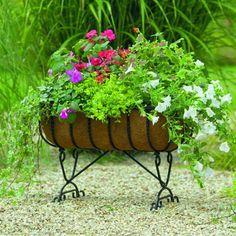 Love this raised planter...it's at BB.