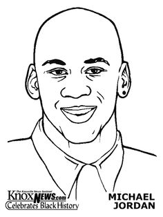 black history month coloring pages coloring pages of michael jordan