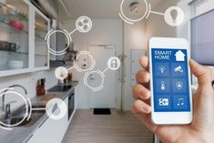 While most of us would revel in the convenience of a high-tech smart home, actua. While most of us would revel in the convenience of a high-tech smart home, actually house automation comes wit Home Automation System, Smart Home Automation, Office Automation, Smart Home Security, Home Security Systems, Security Tips, Wireless Security, Security Camera, Security Alarm