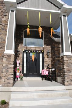 cute ideas to dress up your porch for spring