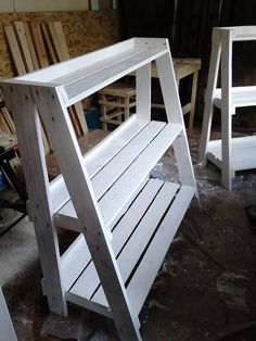 Pallet Crafts, Diy Wood Projects, Wood Crafts, Woodworking Projects, Teds Woodworking, Diy Table, Wood Table, Suculentas Interior, Diy Plant Stand