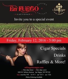 Join the Las Vegas Cigar Guys tonight at EnFuego Sahara. by lvcigarguys