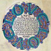 1 Corinthians 13 calligraphy print