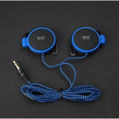 ShiniQ940 Free Shipping Headphones 3.5mm Headset EarHook Earphone