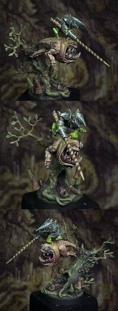 The Internet's largest gallery of painted miniatures, with a large repository of how-to articles on miniature painting Warhammer Skaven, Warhammer Paint, Warhammer Aos, Warhammer Models, Warhammer Fantasy, Dungeons And Dragons Miniatures, Orks 40k, Dnd Monsters, Fantasy Battle