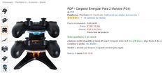 Cargador de mandos ps4 en oferta!!! Hazte ya con tu cargador para dos mandos a la vez a un precio de escándalo!! Consíguelo aquí http://www.atrapatuchollo.com/cargador-de-mandos-ps4-barato/ #ps4 #playstation #playstation4 #mandos #oferta #chollo  #gamers