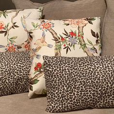 Chinoiserie Pillow Cover Tree Peony Pillow Cover Bird | Etsy Navy Blue Throw Pillows, Turquoise Pillows, Floral Pillows, Colorful Pillows, Decorative Pillows, Animal Print Decor, Bird Pillow, Coral Blue, Coral Turquoise