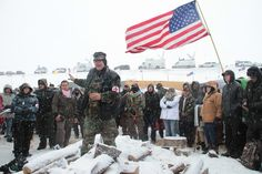 My Week Among the Freezing, Confused, Hopeful Veterans at Standing Rock