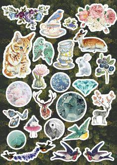 Phone Stickers, Tumblr Stickers, Cute Stickers, Printable Stickers, Printable Planner, Planner Stickers, Emoji Board, Aesthetic Stickers, Kawaii Diy