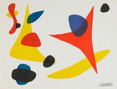 Alexander Calder, Composition in Red, Blue and Yellow, Rago Auctions: Post War & Contemporary Art