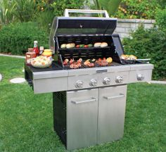 Does Your Guy Love To Grill? Get Him The Perfect Gift With This KitchenAid  4 Burner BBQ! This Durable KitchenAid Grill Is Built With Premium Corrosion  ...