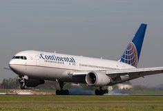 N67158 - Continental Airlines - Boeing 767-224(ER)