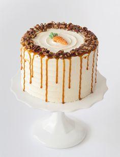 Carrot Cake Decoration, Dessert Decoration, Birthday Cake Decorating, Cake Decorating Tips, Cake Toronto, Best Carrot Cake, Cake Business, Homemade Cake Recipes, Bakery Cakes