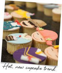 Hot, new cupcake trend