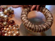 DIY - Adventskranz selber basteln / easy advent wreath - YouTube