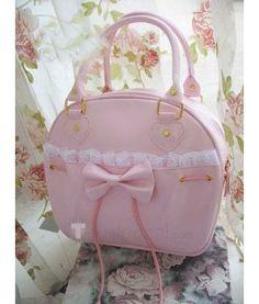 009d739973b Pink lolita bag Roze Handtassen, Gyaru, Harajuku Mode, Gothic Lolita,  Gevulde Pepers