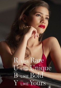 Zendaya for Lancome L'absolu rouge ruby cream lipstick 2019 #zendaya #lancome Zendaya Maree Stoermer Coleman, Lancome, Face Claims, In Hollywood, Like You, Style Icons, Dancer, Actresses, Unique