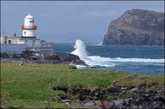 Valentia Lighthouse, Ireland  by Bronislav Kordovanik