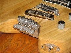 Ingenious DIY headless guitar tuning solution.