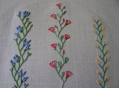Crazy Quilt Stitches   Crochet, Embroidery, Quilting, Pillows, / Crazy quilt stitches by Lin ...