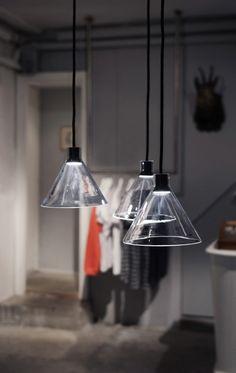 Cone Lamp Design by Bureau Puree
