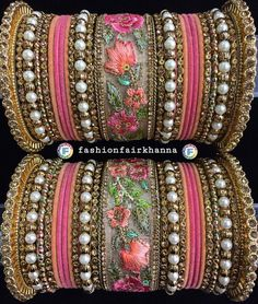 Nice piece to blow the heart😘 Indian Jewelry Earrings, Indian Jewelry Sets, Indian Wedding Jewelry, Indian Bridal, Thread Bangles Design, Silk Thread Bangles, Thread Jewellery, Marriage Jewellery, New Jewellery Design
