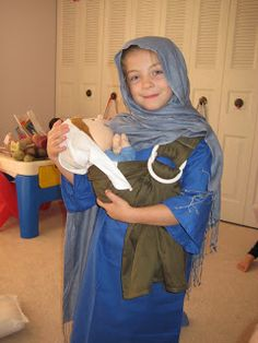 St. Anne, mother of Mary costume All Saints Day