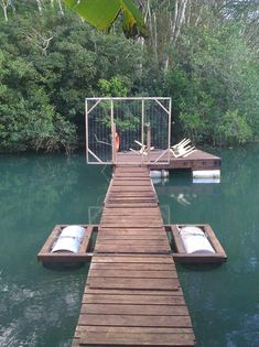 Lets see your Docks, I am wanting to start building a dock in the near future on my pond and need ideas and tips. Floating Boat Docks, Floating House, Building A Dock, Lake Landscaping, Farm Pond, Lake Dock, Fish Ponds, Outdoor Projects, Construction