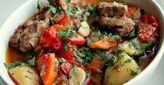 Одно из самых ленивых блюд армянской кухни. Хашлама из говядины с картофелем покорит твое сердце!
