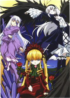 Barasuishou, Suigintou e Shinku