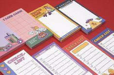 Colorful Notes, Digital Journal, Pad Design, Digital Art Girl, Gsm Paper, Animal Design, Planners, Journals, Adhesive