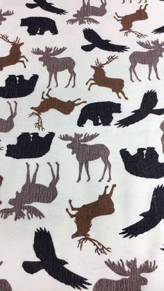 bear fabric cotton by the yard flannel fabric by the yard
