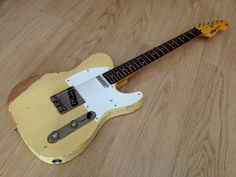 Vintage V62 ICON Series Distressed Tele Style!