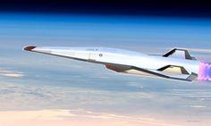 "run2damoon: "" Hypersonic Passenger Craft by Stephen Chang """