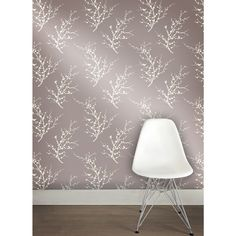 Tempaper Edie in Metallic Champagne Background and Ivory is a temporary, removable wallpaper sold as 1 double roll of 20.5 in. x 11 yds. = 56.37 sq. ft.