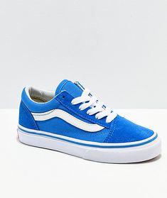 707a23947f4 Vans Old Skool Indigo   White Shoes