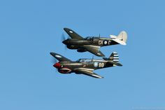 """nzaircraft: """"P-40 Kittyhawks at Classic Fighters 2017 Keep reading """""""