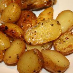 Greek-Style Oven-Roasted Lemon-Butter Parmesan Potatoes