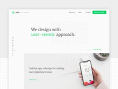 Agency website design designed by Vishal Soni. Connect with them on Dribbble; Great Website Design, Modern Website, Website Design Layout, Portal Website, Website Web, Website Ideas, Web Design Agency, App Design, Design Agency Website
