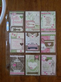 Pocket pal letter made by AnnMarie!