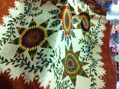 Little Quilts Blog - Commissioned Quilt - hand quilted