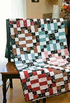 Friday Freebie: A Hug and a Kiss X and O Quilt Pattern