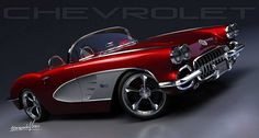 Bad-ass '59 Chevy Corvette