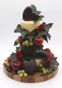 Why not try a Hearts Desire cheese wedding cake? [Yorkshire Dales Cheese Company]