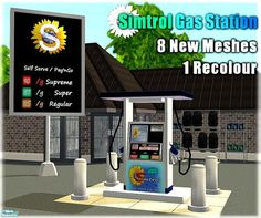 PureElements' Simtrol Gas Station Set